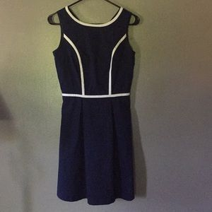Tommy Hilfiger size 0 blue and white dress
